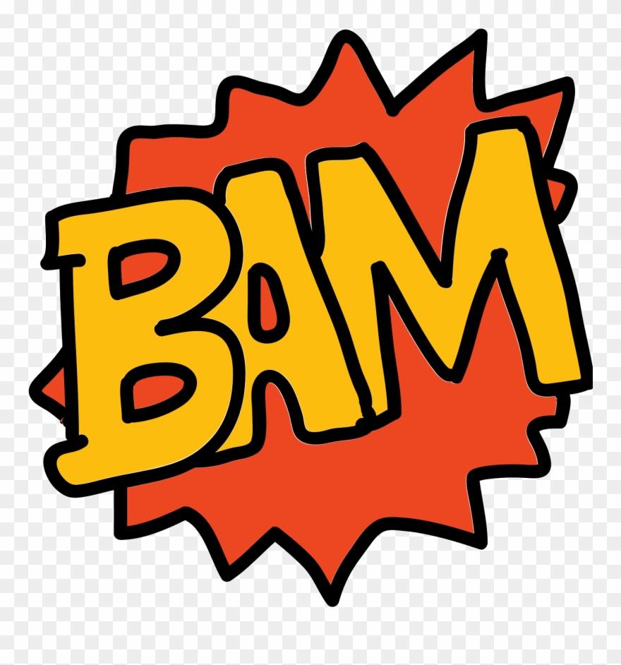 Bam comic clipart banner royalty free download Bam Bam Icon - Bam Cartoon Png Clipart (#706526) - PinClipart banner royalty free download