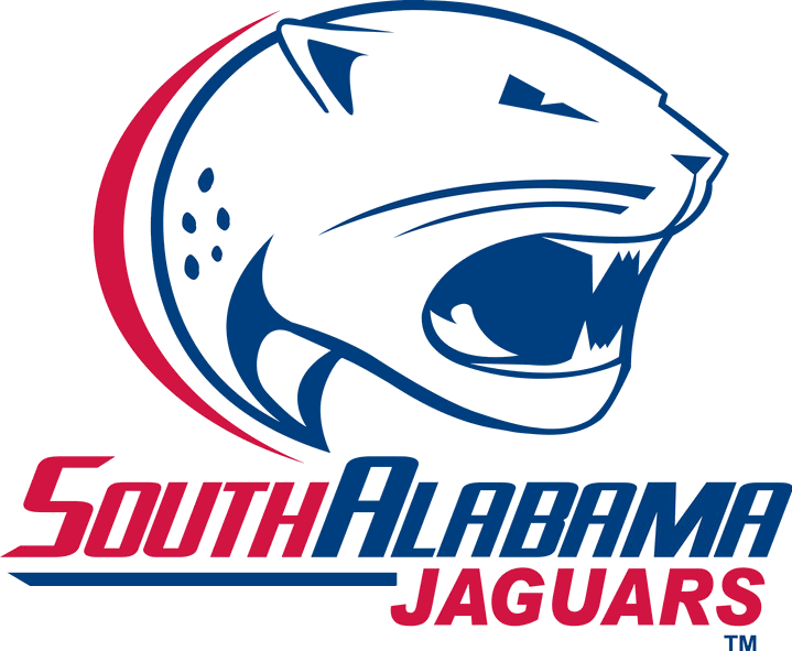 Bama football clipart graphic black and white Image - South Alabama Jaguars.png | NCAA Football Wiki | FANDOM ... graphic black and white