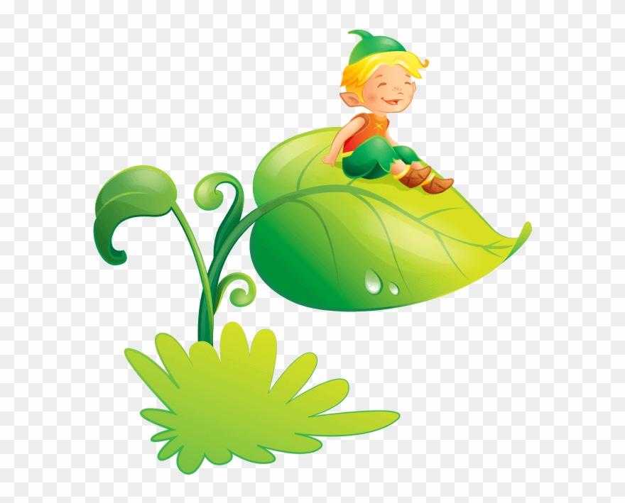 Bambini clipart graphic free Fairies And Elves Wallstickers For Children Bedroom, - Folletti Per ... graphic free