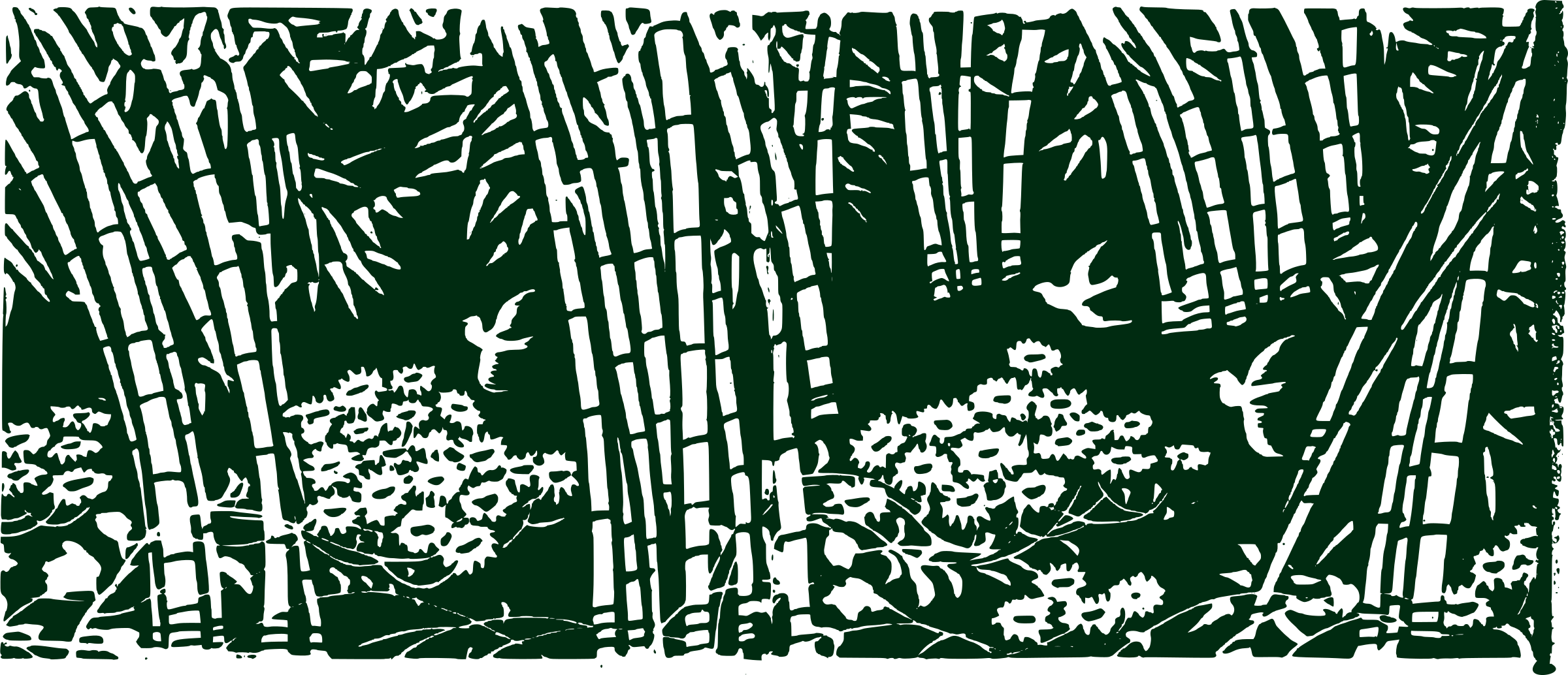 Bamboo forest house clipart jpg library Clipart - Bamboo Forest jpg library