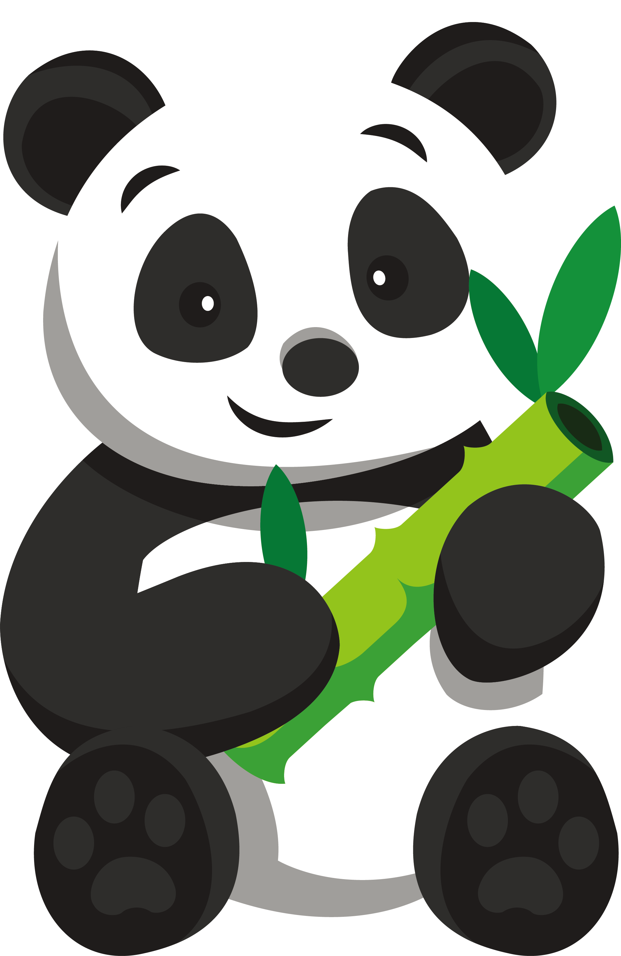 Bear and tree clipart clip freeuse library Giant panda Panda House restaurant Bear Clip art - Bamboo Panda 2059 ... clip freeuse library