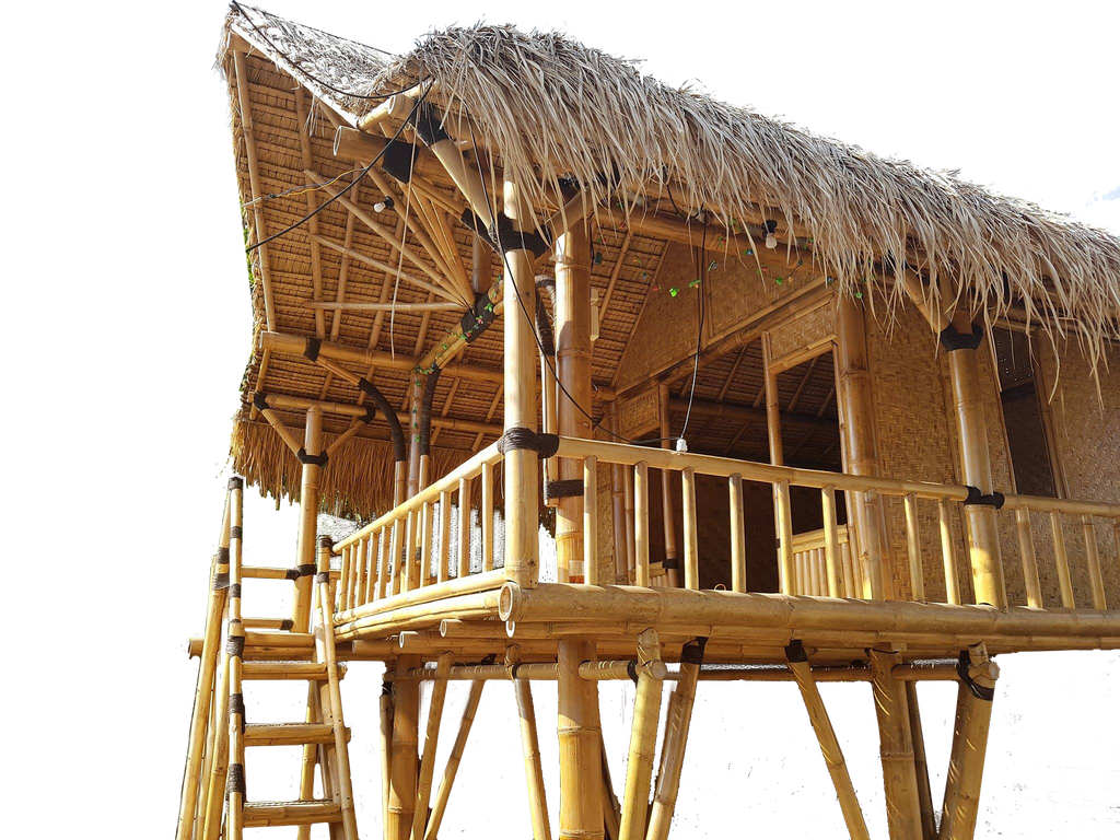 Bamboo house clipart clipart free library Bamboo Hut PNG Transparent Bamboo Hut.PNG Images. | PlusPNG clipart free library