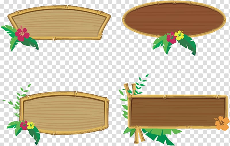 Bamboo sign clipart svg library stock Bamboo borders collage, Frames Tiki culture , Hawaiian party ... svg library stock