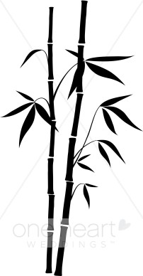 Bamboo stick bamboo clipart black and white vector stock Bamboo Stick Clipart Black And White vector stock