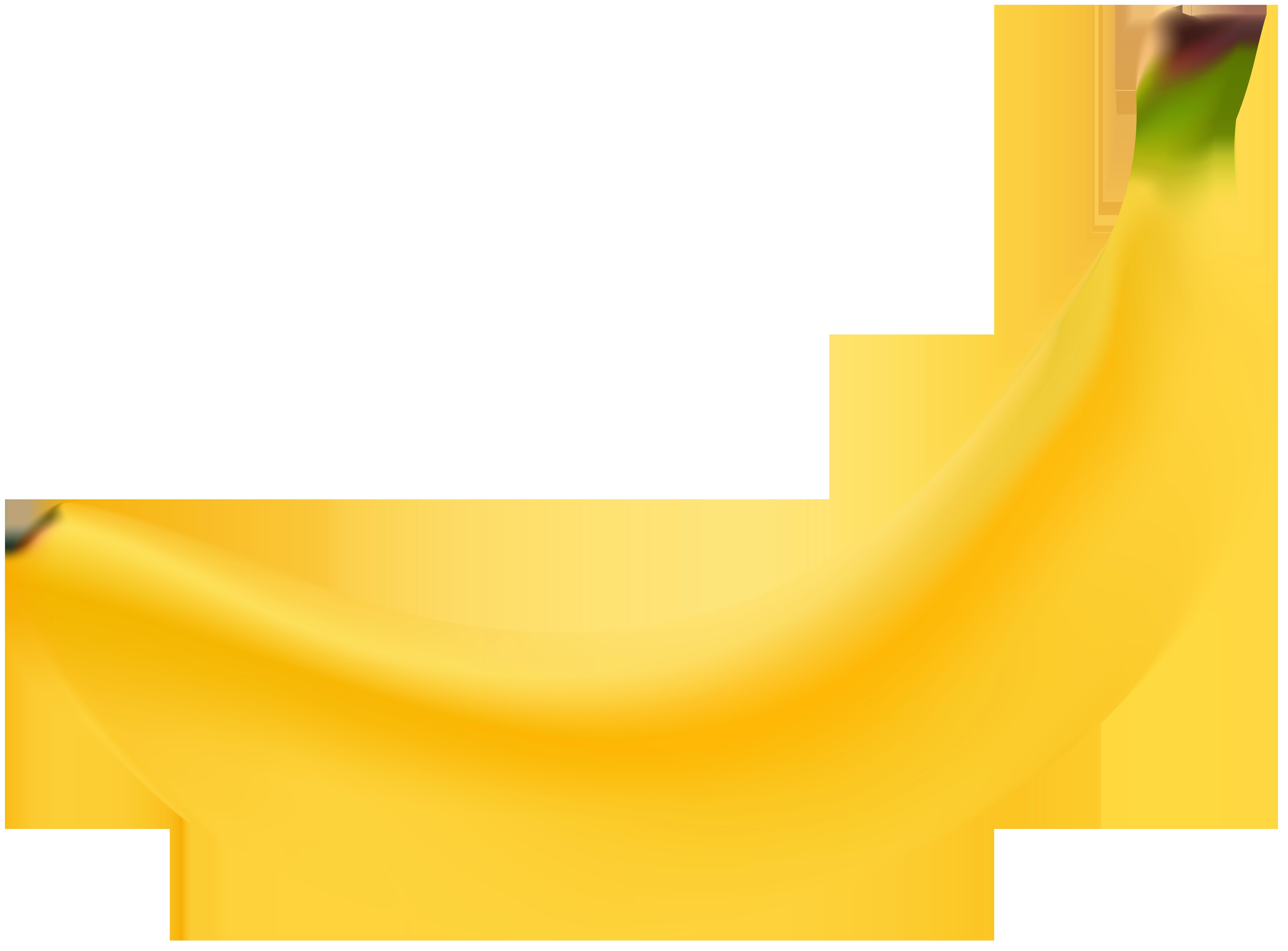 Banana transparent clipart
