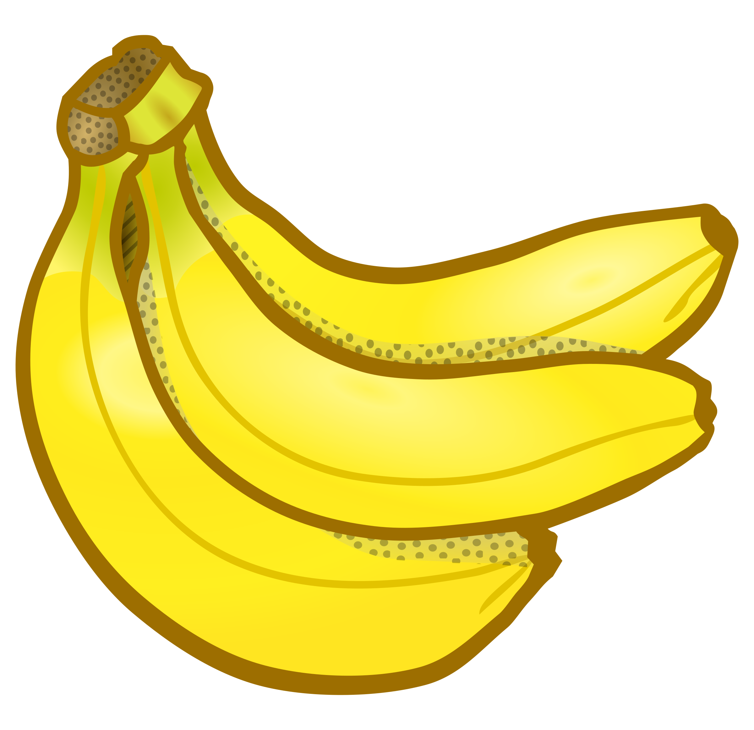 Bbannana clipart clip black and white library Bunch of bananas clipart the cliparts databases - ClipartBarn clip black and white library