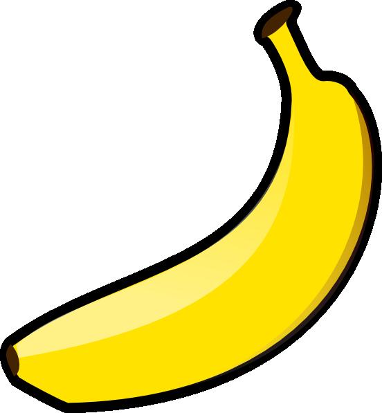 Banana and apple clipart clip art transparent library Banana Clip Art at Clker.com - vector clip art online, royalty free ... clip art transparent library