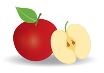 Banana and apples clipart picture library download Free Fruits Clipart - Clip Art Pictures - Graphics - Illustrations picture library download