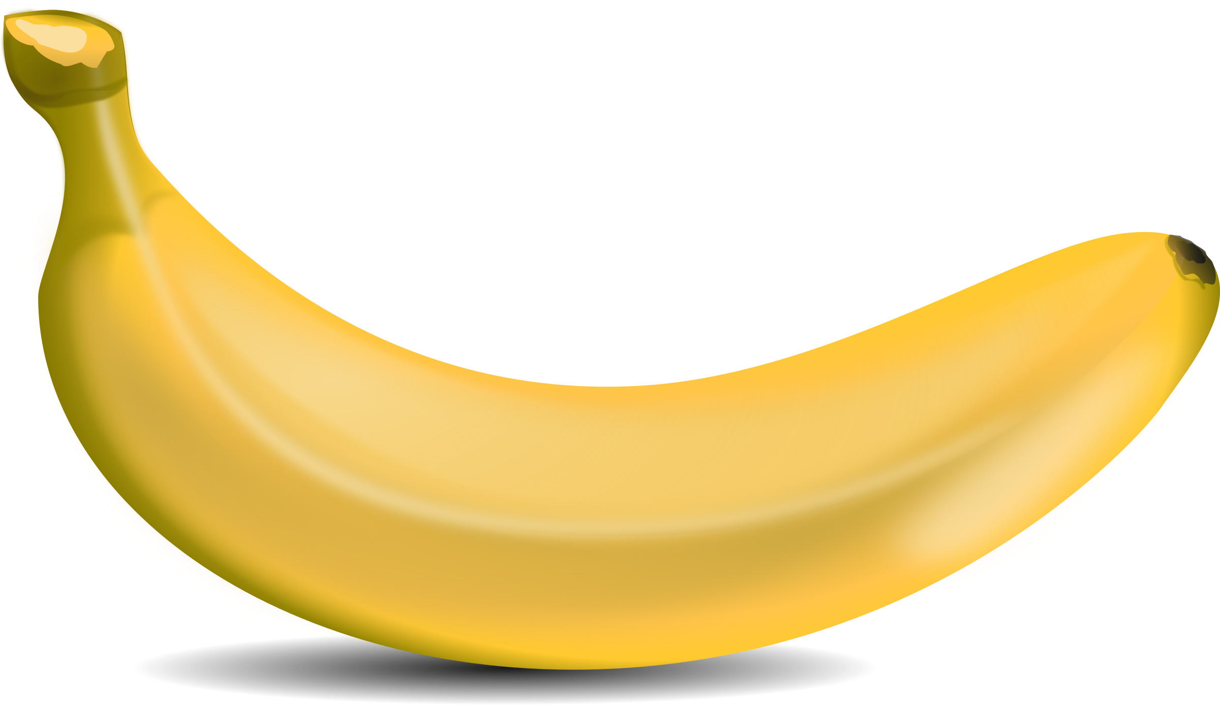 Banana background clipart