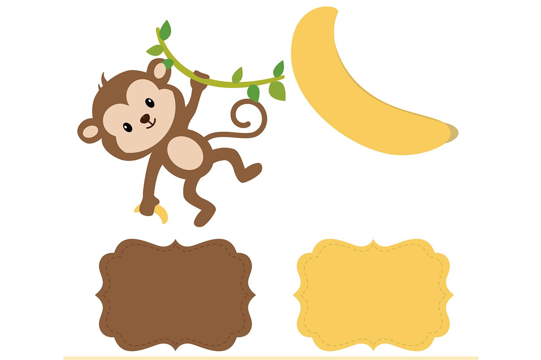 Banana background clipart picture transparent stock Monkey Digital Paper, Animals Background, Banana Pattern, Jungle  Scrapbooking Papers, Safari Background, Zoo Pattern, Printables, Monkey  Clipart. picture transparent stock