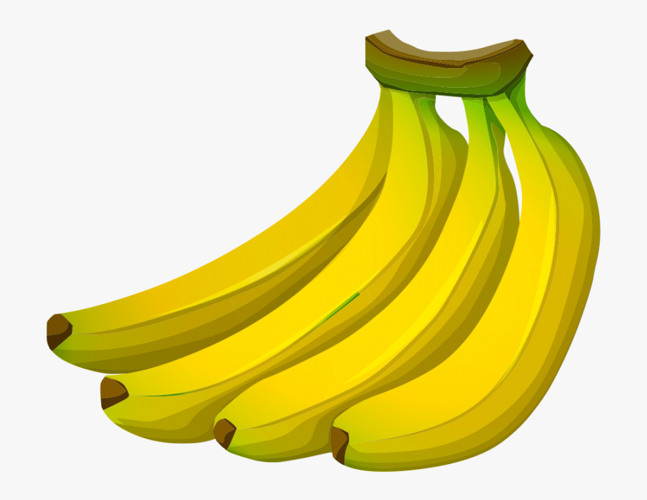 Banana background clipart picture black and white Banana Clipart Transparent Background - Transparent Background ... picture black and white