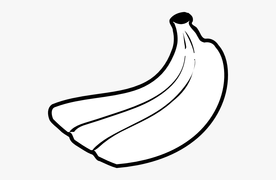 Banana black and white clipart picture black and white download Banana With Shades , Transparent Cartoon, Free Cliparts ... picture black and white download