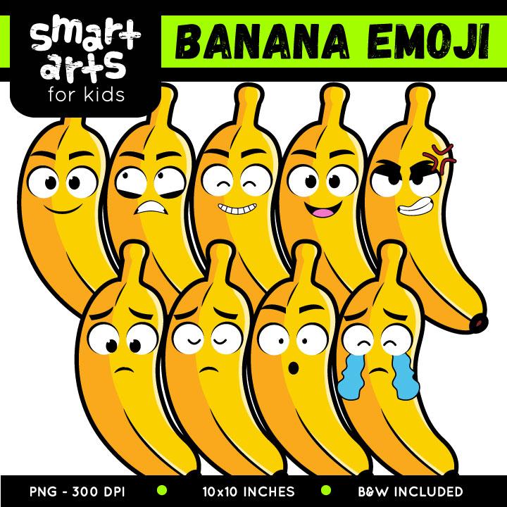 Banana emoji clipart clipart transparent download Banana Emoji Clip Art clipart transparent download