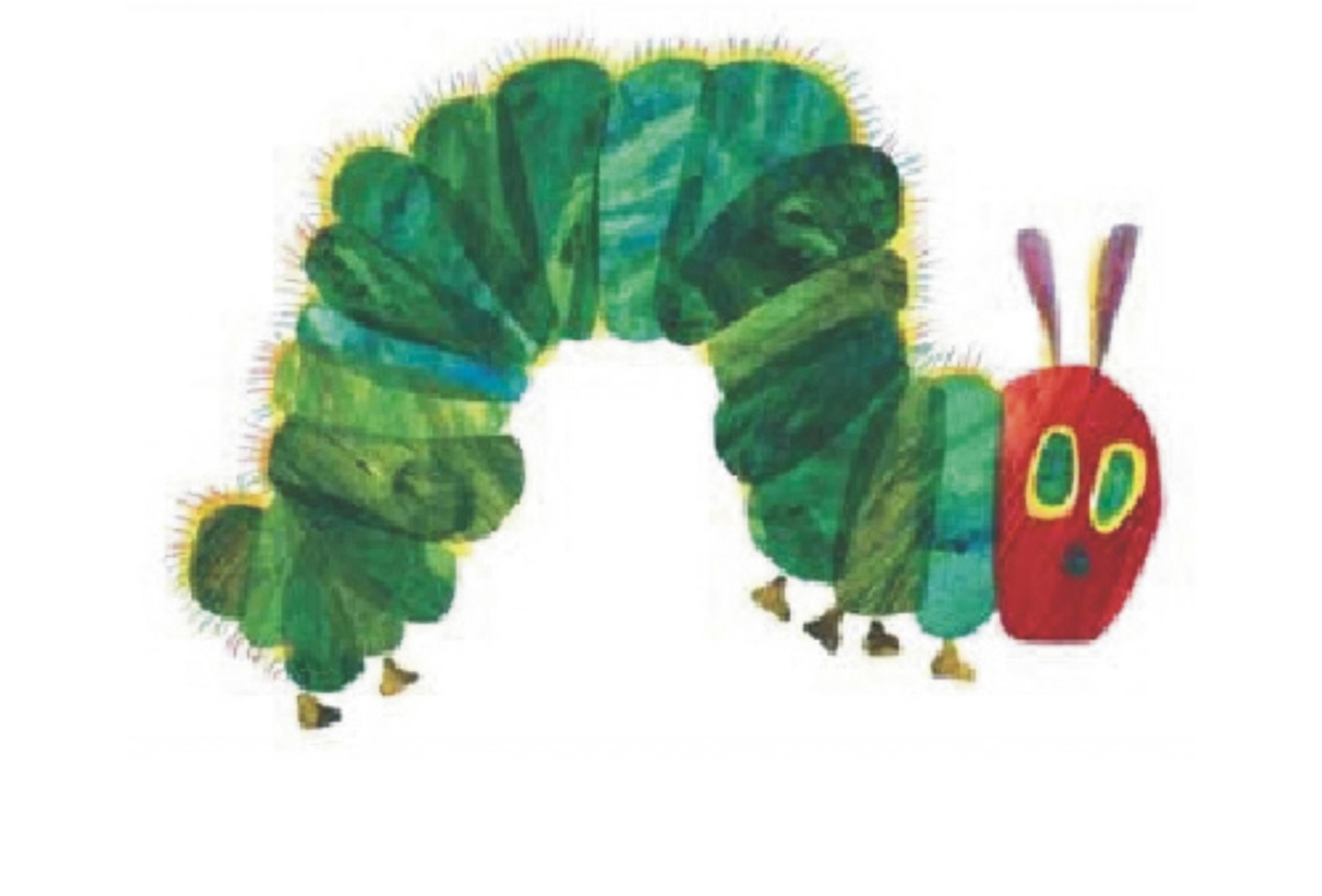 Banana hungry caterpillar clipart clip freeuse library The Very Hungry Caterpillar clip freeuse library