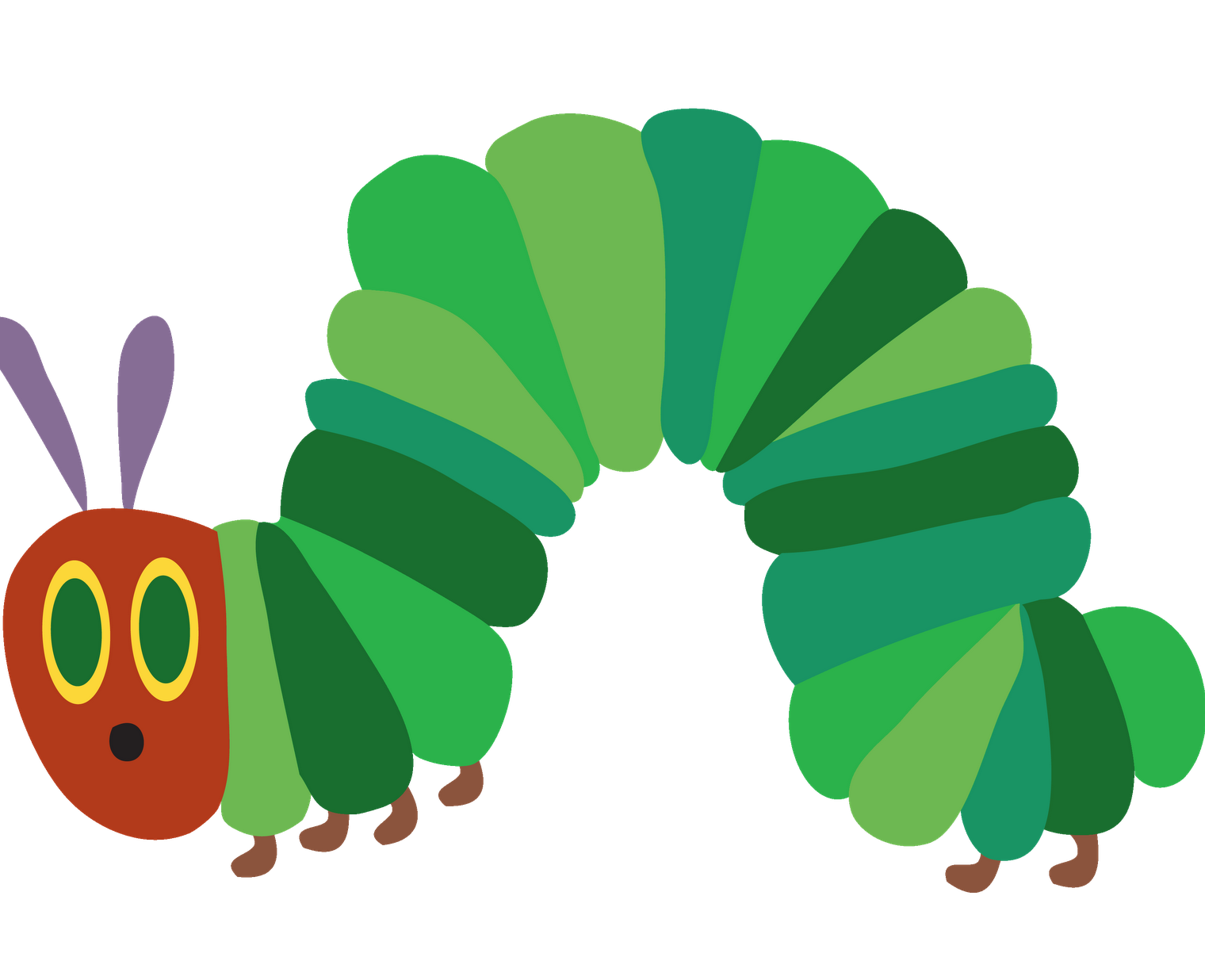 Banana hungry caterpillar clipart clipart library download Caterpillar Food Cliparts   Free download best Caterpillar Food ... clipart library download