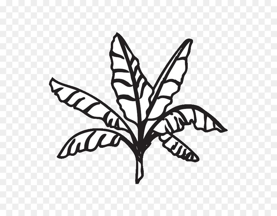 Banana leaf clipart black and white image freeuse stock Banana Clipart Black And White png download - 700*700 - Free ... image freeuse stock