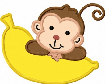 Banana monkey monkey clipart png royalty free library Monkey Banana Clipart | Free download best Monkey Banana Clipart on ... png royalty free library