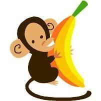 Banana monkey monkey clipart jpg royalty free Banana Monkey - ClipArt Best | Clipart Panda - Free Clipart Images jpg royalty free