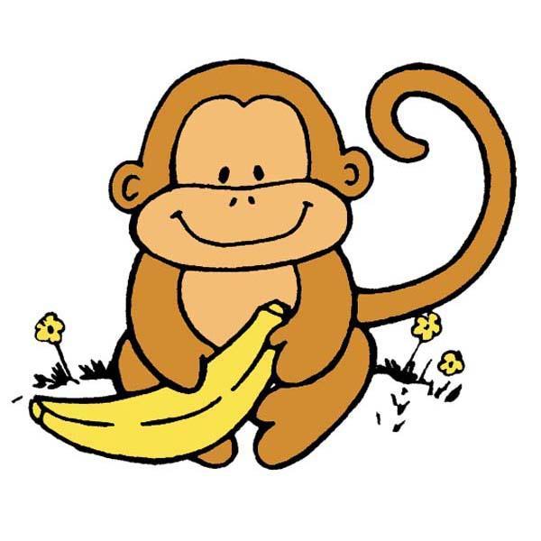 Banana monkey monkey clipart clip royalty free download Free Banana Monkey Cliparts, Download Free Clip Art, Free Clip Art ... clip royalty free download