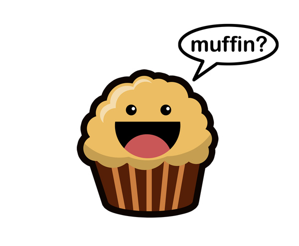 Banana nut muffin clipart svg freeuse download The Elizavegan Page: Platonically Ideal Banana Walnut Muffins svg freeuse download