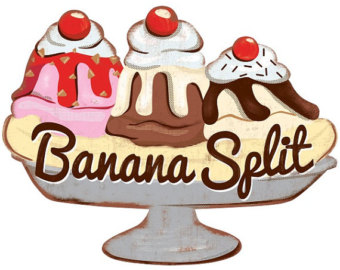 Banana split images clipart image royalty free stock Free Banana Split Clipart, Download Free Clip Art, Free Clip Art on ... image royalty free stock