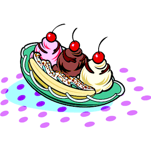 Banana split images clipart clipart free Banana split clip art | Clipart Panda - Free Clipart Images clipart free