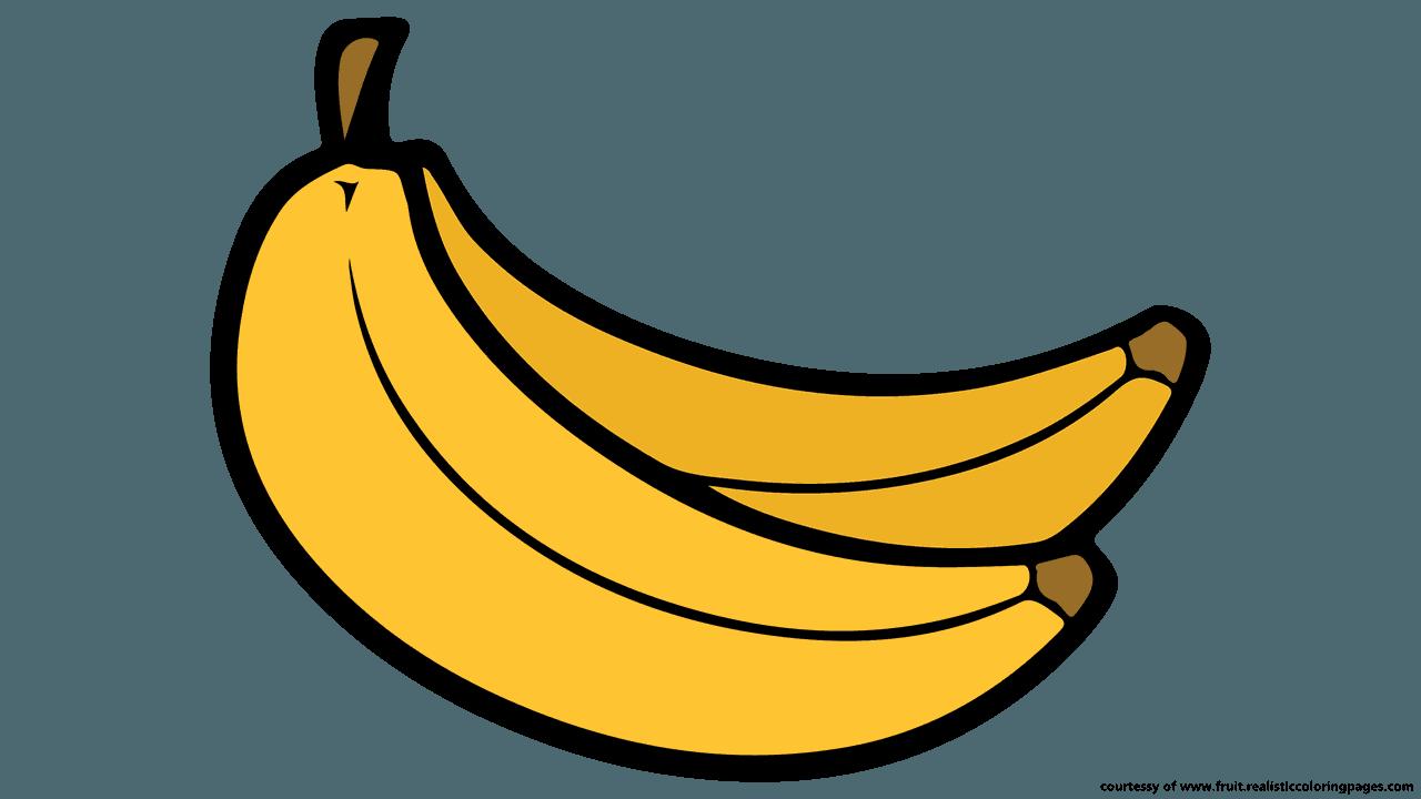 Banana transparent clipart png freeuse stock Banana Fruit Clip art - fresh fruits png download - 1280*720 - Free ... png freeuse stock