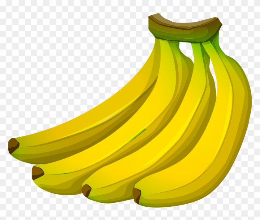 Banana transparent clipart clipart black and white download Banana Png Vector Background - Transparent Bananas Clipart, Png ... clipart black and white download