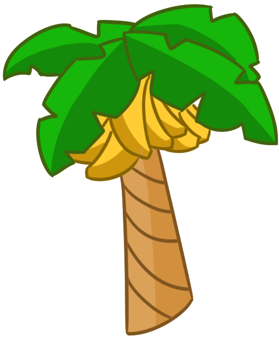 Banana tree clipart svg royalty free download Photos: Cartoon Banana Tree, - Drawings Art Gallery svg royalty free download