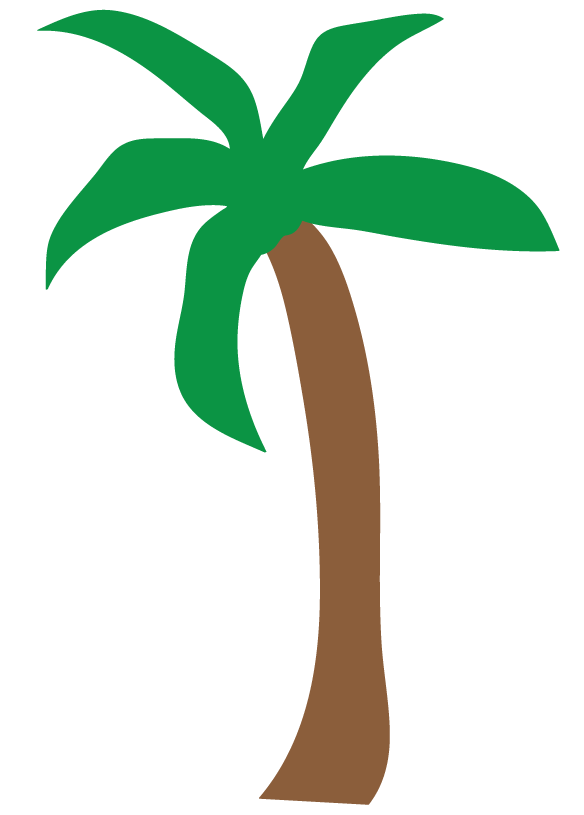 Beach palm tree clipart jpg black and white stock Tree Drawing Clipart at GetDrawings.com | Free for personal use Tree ... jpg black and white stock