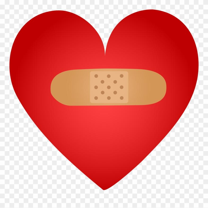 Band aid logo clipart clipart freeuse Bandaid Healing Heart With Band Aid Free Clip Art - Healing Clipart ... clipart freeuse