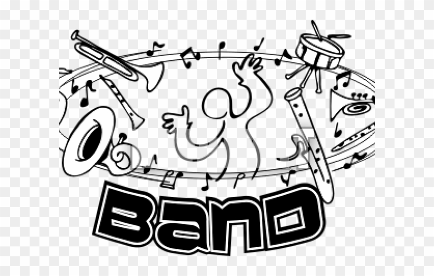 Band rehersal clipart picture freeuse download Concert Clipart Band Practice - Png Download (#2606819) - PinClipart picture freeuse download