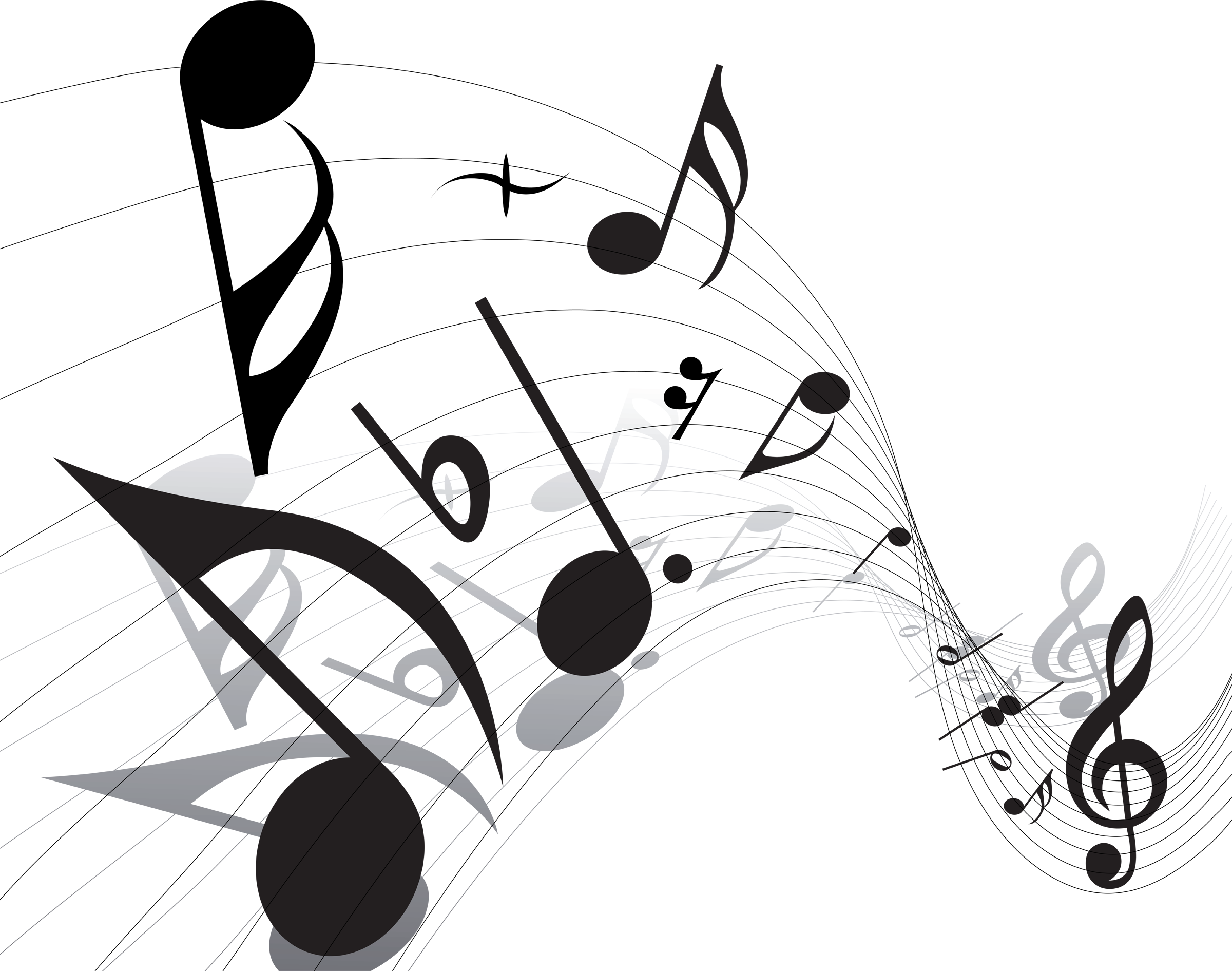 Music notes going around the sun clipart stock Music Notes Png Vector - ClipArt Best | Tattoos | Pinterest | Music ... stock