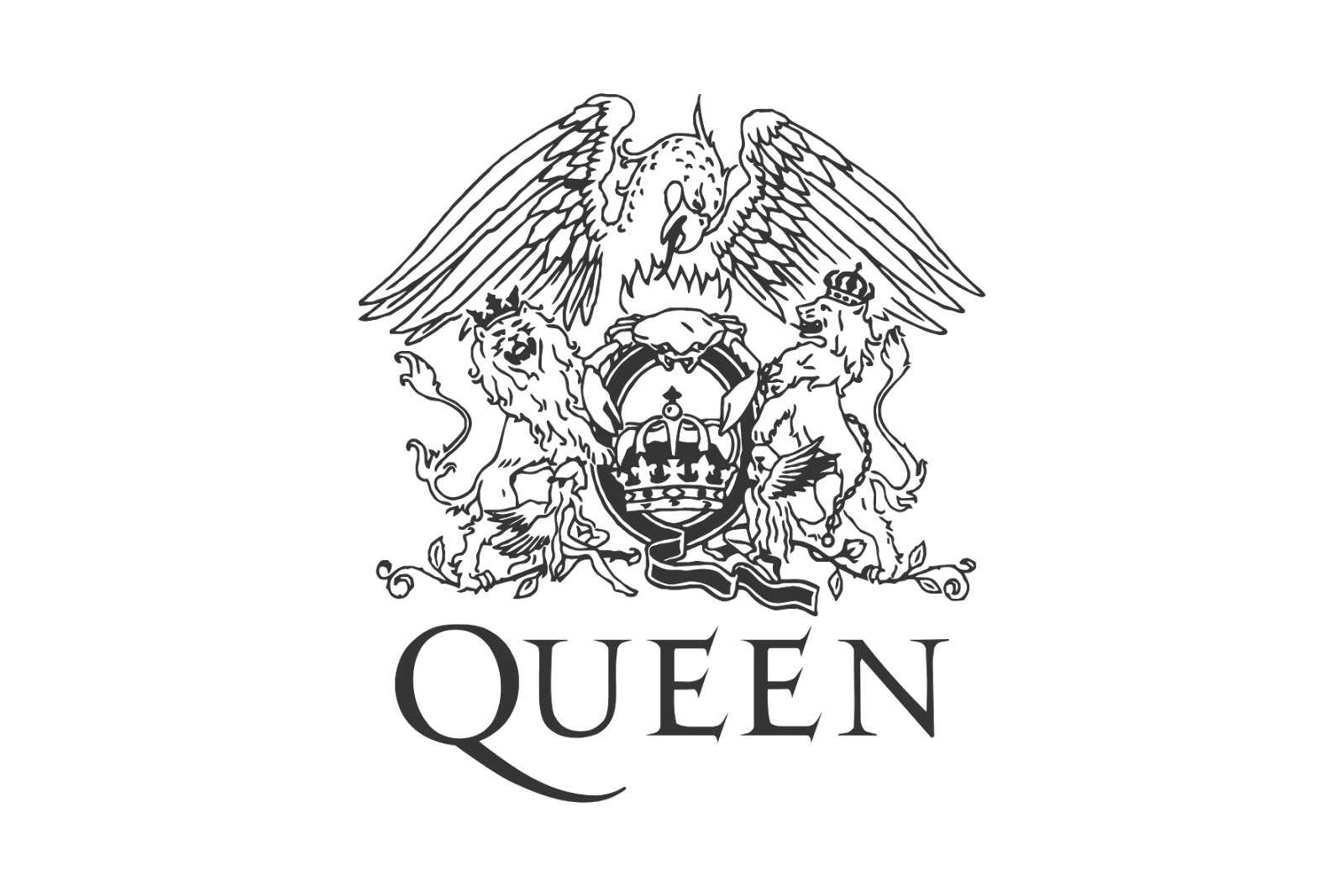 Queen logo gallery h. Crown temple clipart text