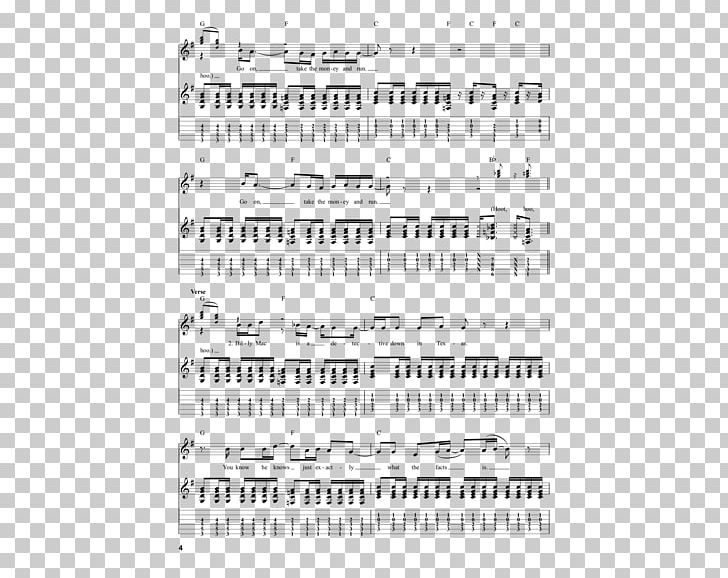 Band on the run clipart vector freeuse stock Sheet Music Take The Money And Run Steve Miller Band Brand PNG ... vector freeuse stock