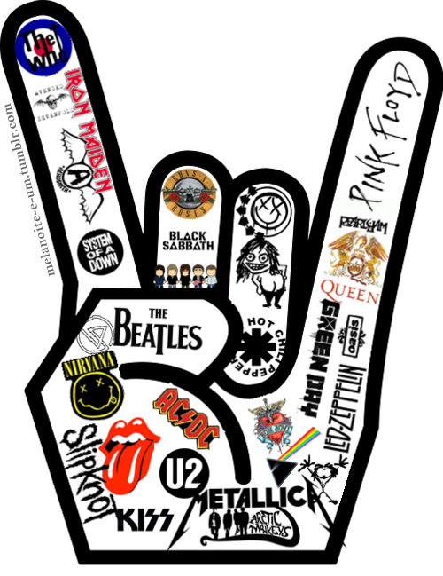 Banda de rock clipart png library download Ceci n\'est pas une pipe | Rock and Roll in 2019 | Music, Rock bands ... png library download