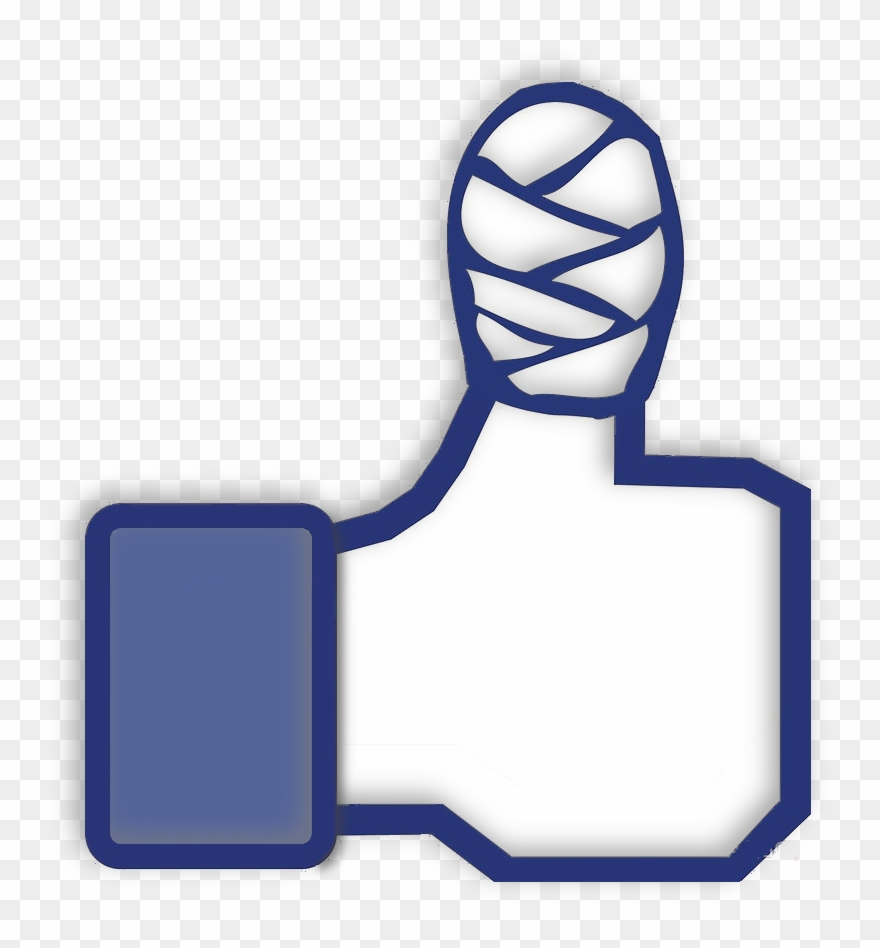 Facebook page clipart svg free download No Facebook Page - Thumbs Up Emoji With Bandage Clipart (#1232700 ... svg free download