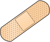 Clipart bandaid png black and white Bandaid Clipart Free | Free download best Bandaid Clipart Free on ... png black and white