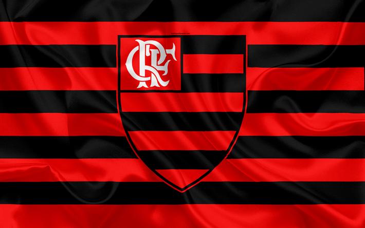 Bandeira do flamengo clipart clipart free Download wallpapers Flamengo RJ FC, Brazilian football club, emblem ... clipart free