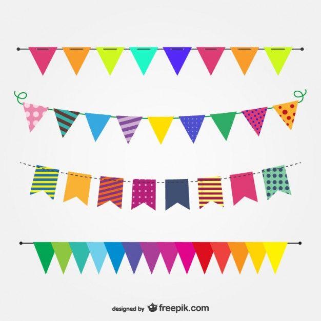 Bandeirinhas festa junina clipart svg stock Festa Free Vector | Molduras | Festa junina vetor, Bandeirinhas ... svg stock