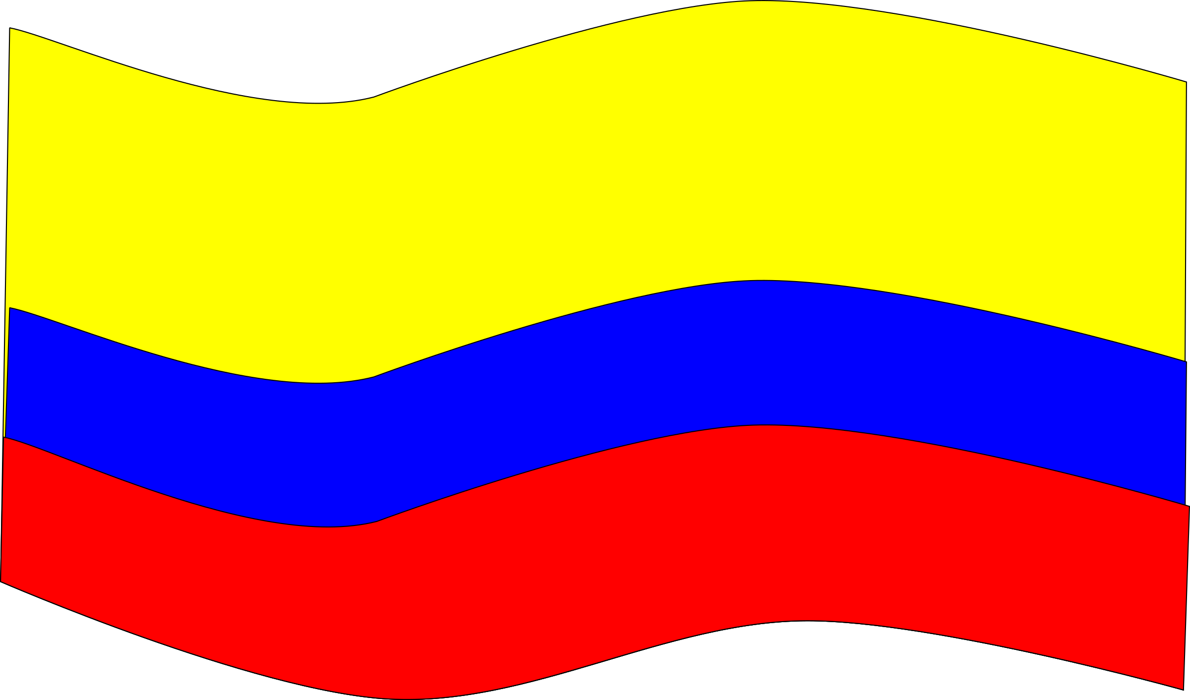 Bandera colombia clipart banner royalty free library Bandera Colombia Big - Bandera De Colombia En Png , Transparent ... banner royalty free library