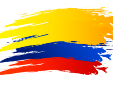 Bandera colombia clipart free library Bandera Colombia Png Vector, Clipart, PSD - peoplepng.com free library