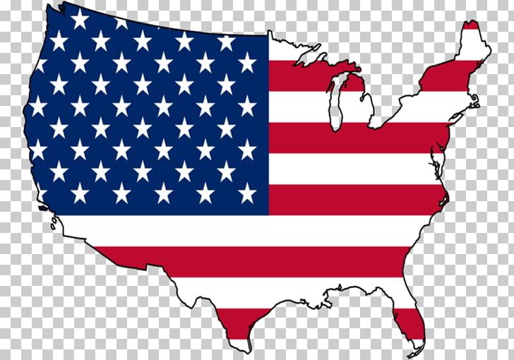 Bandera de estados unidos clipart jpg royalty free library Bandera del mapa de estados unidos, derechos personales s PNG ... jpg royalty free library
