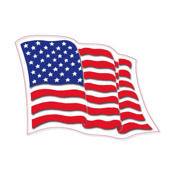 Bandera de estados unidos clipart banner black and white Bandera Estados Unidos Ondeando Png Vector, Clipart, PSD - peoplepng.com banner black and white