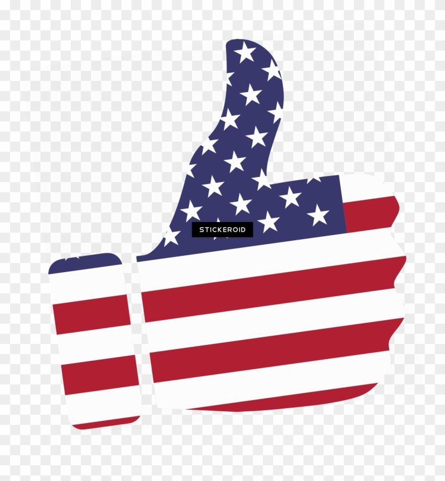 Bandera de estados unidos clipart jpg freeuse Thumb Up American Flag - Imágenes Bandera Estados Unidos Clipart ... jpg freeuse