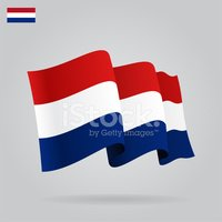 Bandera de holanda clipart png library download Plana Y Agitando UNA Bandera vectores en stock - Clipart.me png library download