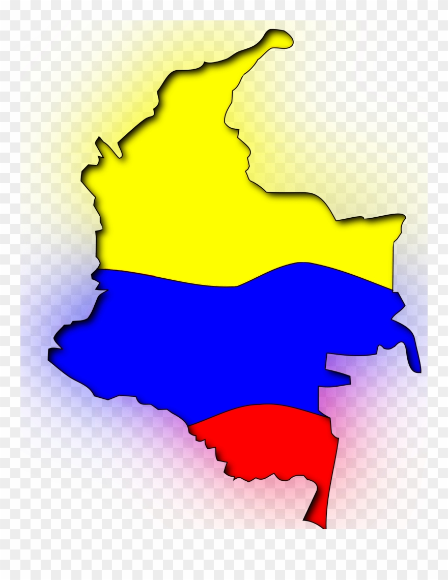 Bandera de holanda clipart clip art library Map - Mapa De Colombia Bandera Clipart (#170818) - PinClipart clip art library