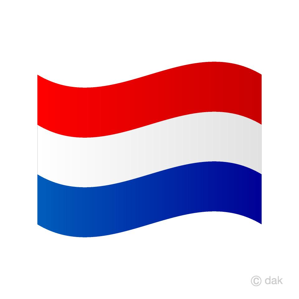Bandera de holanda clipart clipart free library Ondeando la bandera de Holanda Gratis Dibujos Animados Imágene ... clipart free library