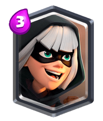 Bandit clash royale clipart free download Bandit, Legendary Troops - Clash Royale Kingdom Character free download
