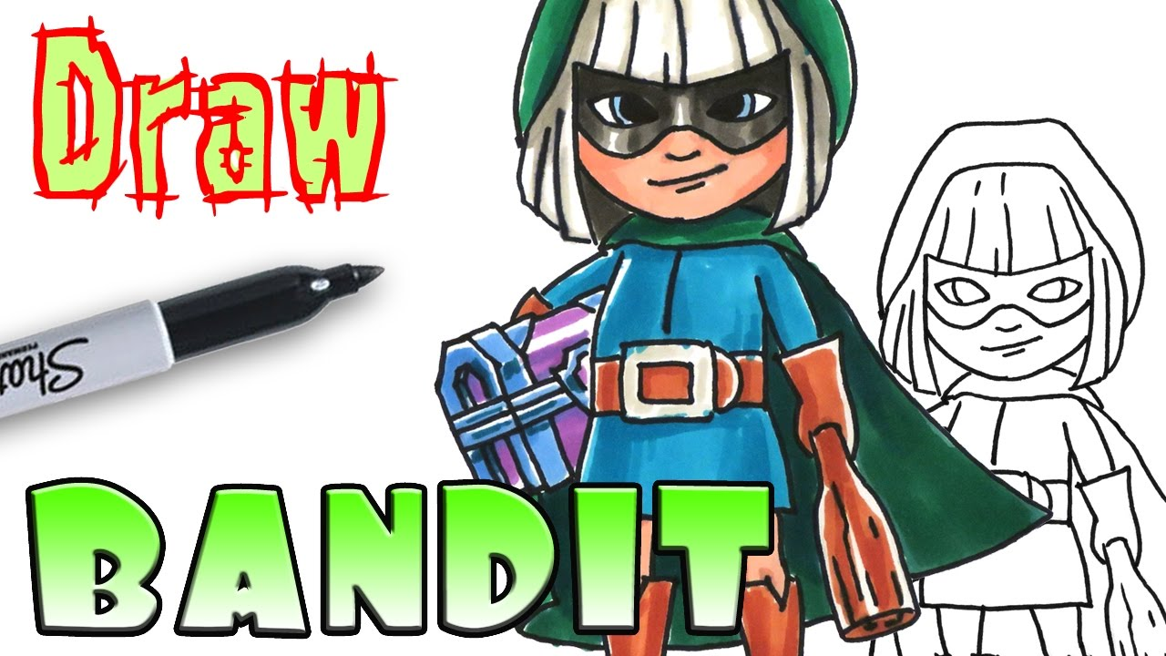 Bandit clash royale clipart clip art royalty free library Bandit Drawing at PaintingValley.com | Explore collection of Bandit ... clip art royalty free library